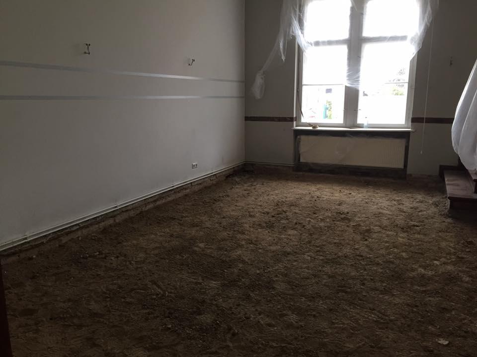 Fußboden Jugendstil ~ Neuer boden für den kleinen gemeinderaum jugendstil kirchsaal nordend