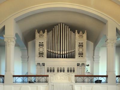 Dinse Orgel im Jugendstil-Kirchsaal Nordend
